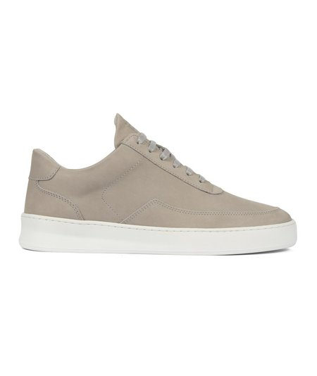 Filling Pieces Low Mondo Plain Nardo Nubuck - Grey