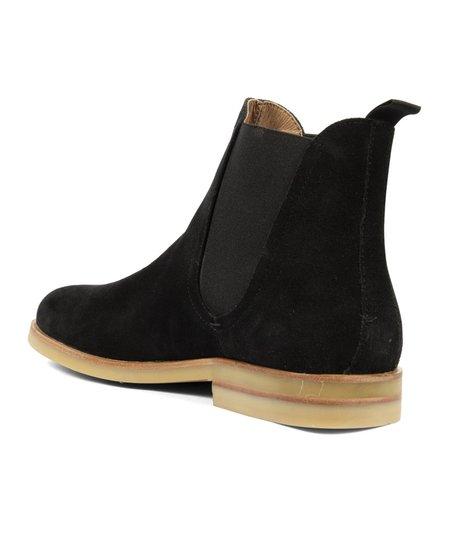 Hudson London Adlington Suede Chelsea Boot - Black