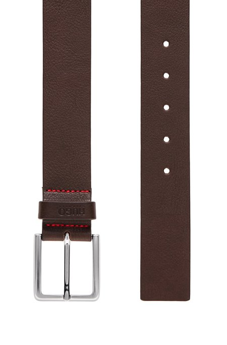 Hugo Gionios Leather Belt - Brown