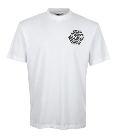 McQ Alexander McQueen Dropped Shoulder Tee - White