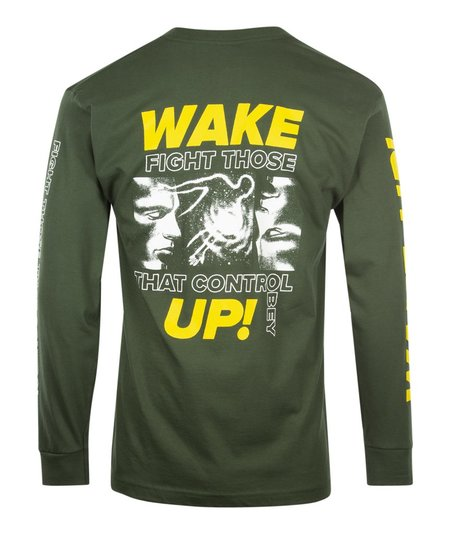 Obey Fight Those That Control L/S Tee - Green