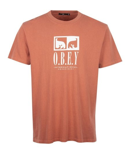 Obey Int. Conspiracy Tee - Pink