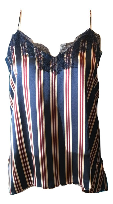 Cami NYC Racer Tank - Ink Stripe