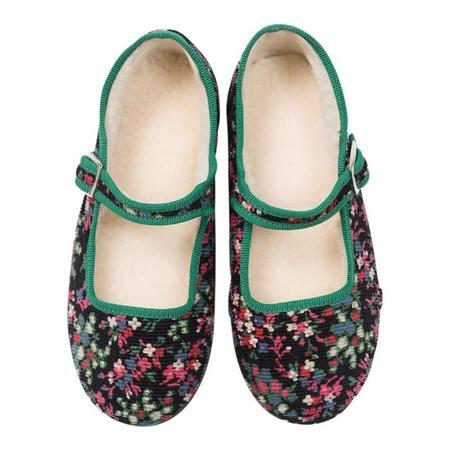 KIDS Bonton Baby And Child Jane Shoes - Folk Flower Print