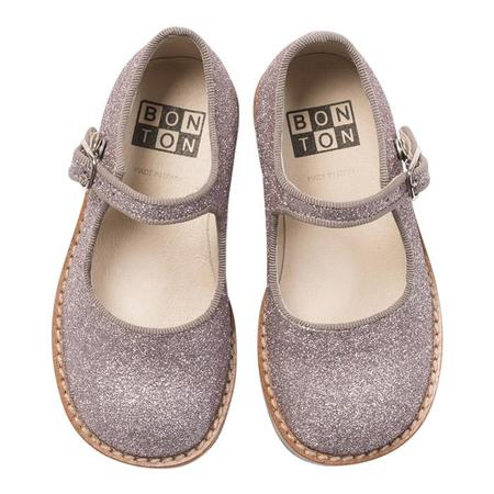 KIDS Bonton Baby And Child Violette Mary Jane Shoes - Glitter