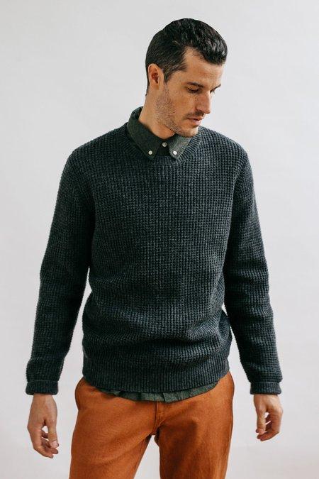Bridge & Burn Porter Sweater - Charcoal