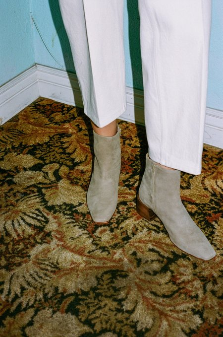 Mari Giudicelli Classic Boot - Khaki Suede