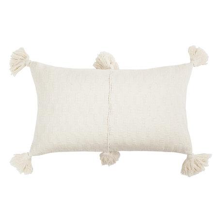 Archive New York Antigua Pillow - Natural White
