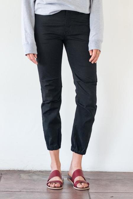 Nili Lotan French Military Pant - Jet Black