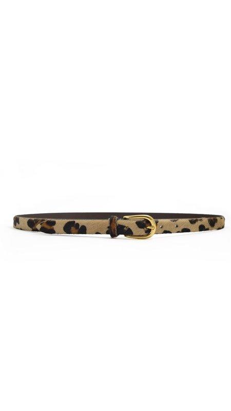 ANDERSON'S Calf HairBelt - Leopard