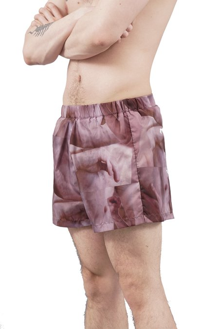 Nicola Indelicato Swim Shorts - Naked Print