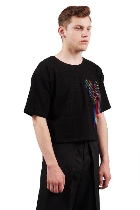 Dusty Rafael Hearts Cropped T-Shirt