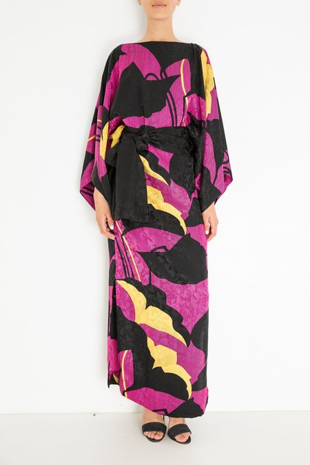 Warm Samurai Dress - Orchid