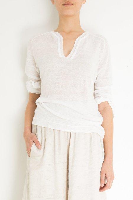 Inhabit Serafino Linen - White