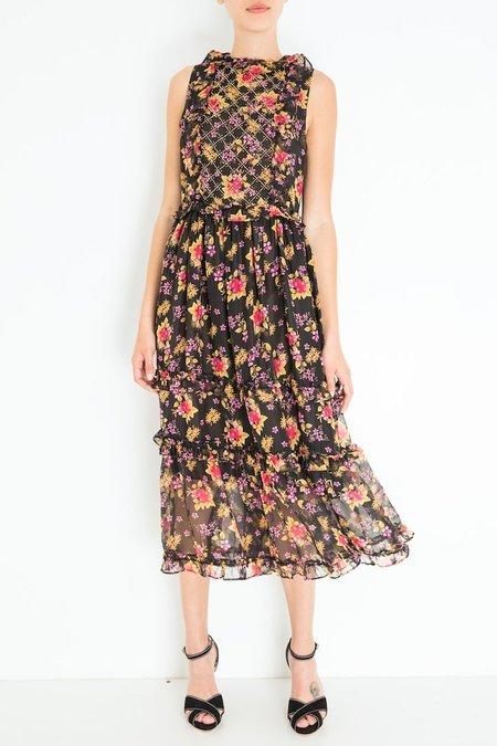 Dodo Bar Or Simmone Dress - Black Print