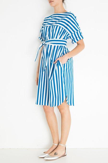 Aspesi & Co Stripe Dress - Blue/White