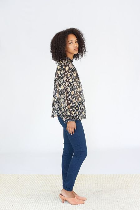 Ulla Johnson Sandrine Blouse - Midnight