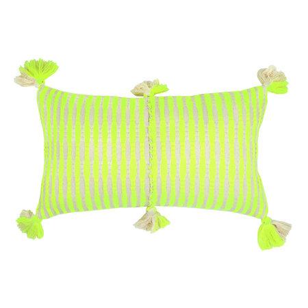 Archive New York Antigua Pillow - Neon Yellow