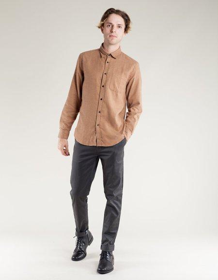 Portuguese Flannel Canela LS Shirt - Camel