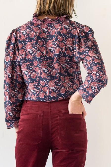 Apiece Apart Marijn Blouse - Huerta Floral
