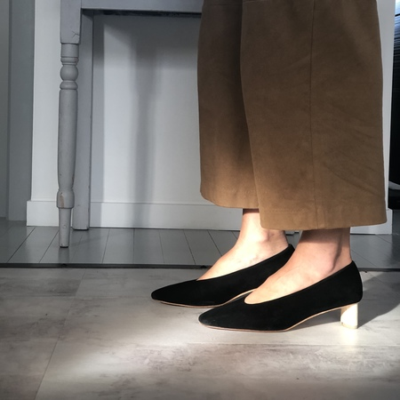Loq Frida Suede Pumps - Black