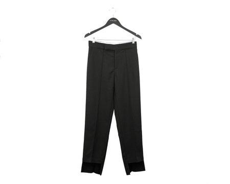 Aeron Asymmetric Hem Cigarette Pant - Black