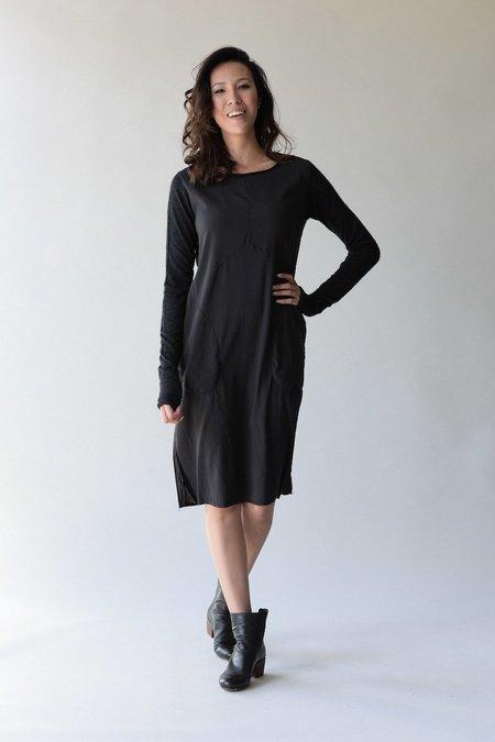 Kristensen du Nord 314 Silk Slim Dress - Graphite