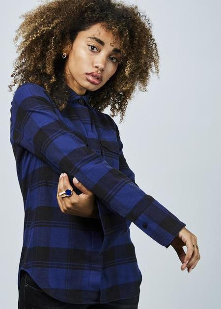 Lareida Alex Plaid Shirt - Blue/Black