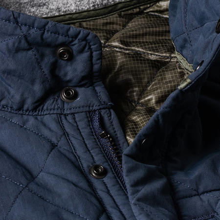 Relwen Quilted Tanker - Navy