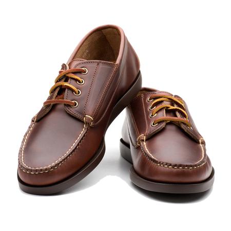 Rancourt Classic Ranger Moc Carolina Shoes - Brown