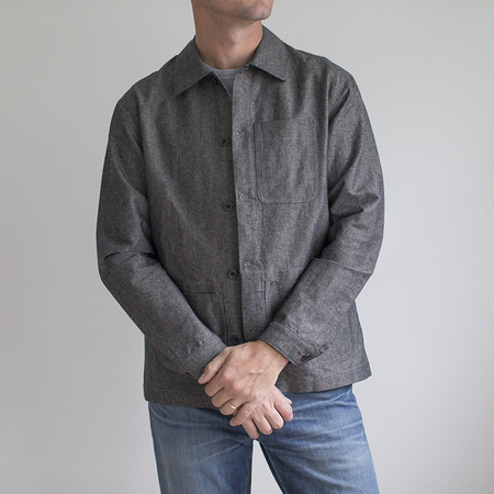 Raleigh Denim Chore Coat - Basalt