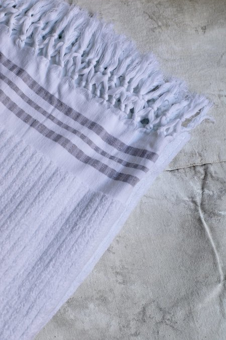 Cuttalossa Plush Large towel - White