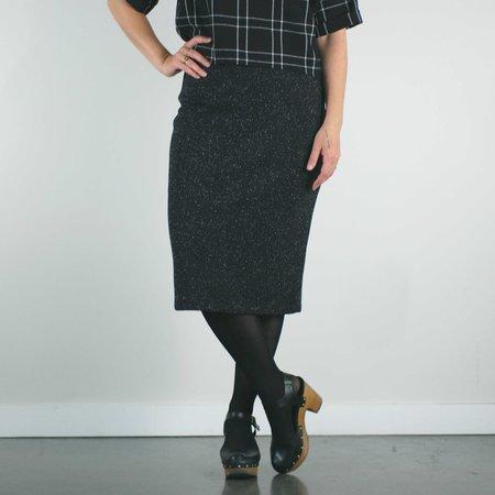 Bodybag by Jude Euston Skirt - Black Moondust