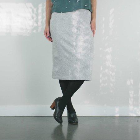 Bodybag by Jude Euston Skirt -Grey