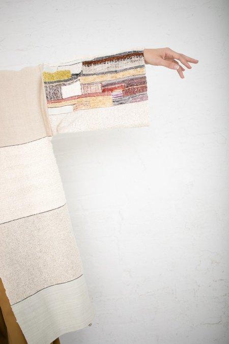 Jess Feury Woven Kimono - Bone