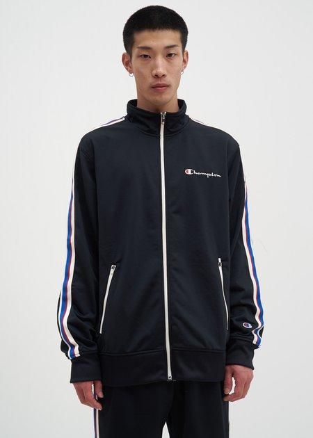 Champion Reverse Weave Track Jacket -  Black