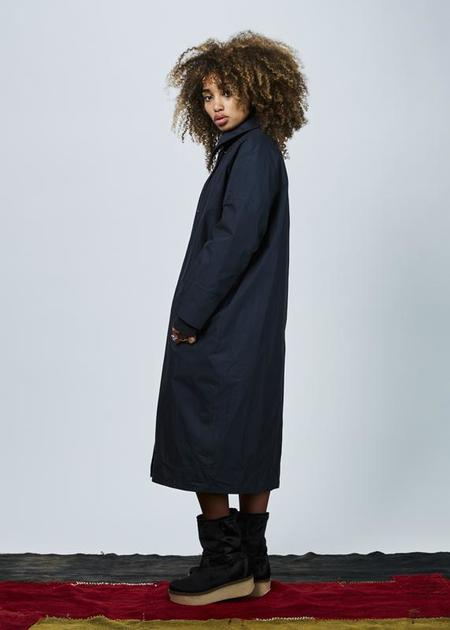 G-Lab Audrey Oversize Coat - Navy