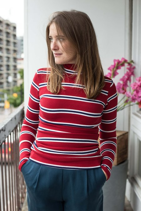 Meemoza Sylva Top - Red Stripes