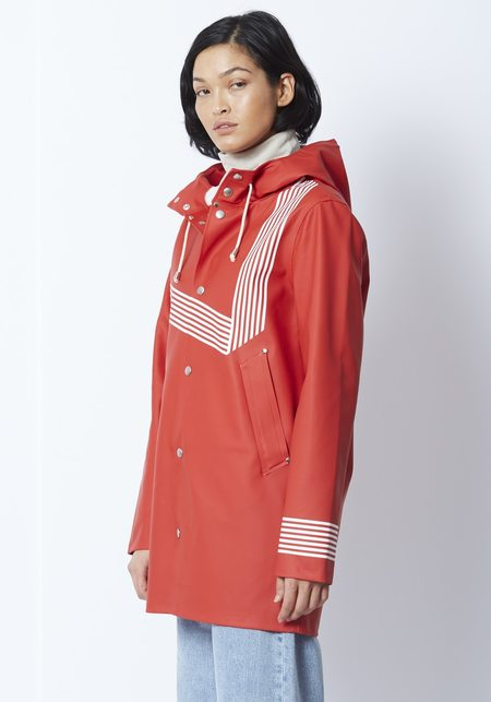 Unisex Stutterheim Stockholm Rain Coat x Band Of Outsiders