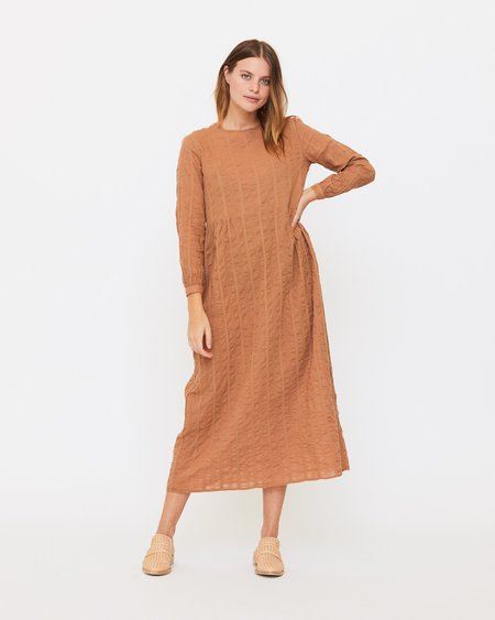 Esby Blanche Prairie Dress - Clove