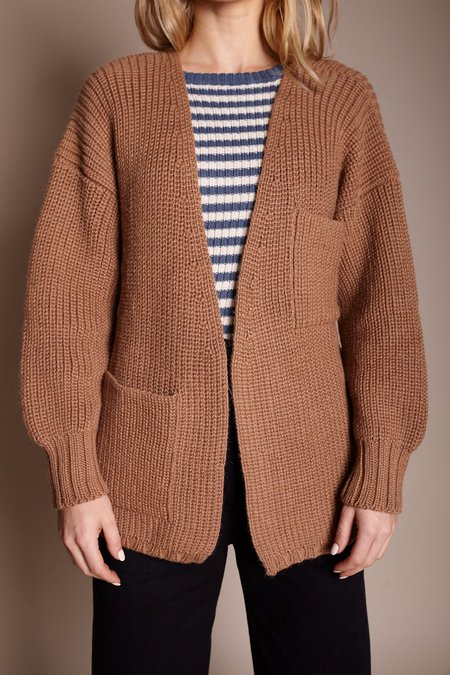 First Rite Sweater Coat - Camel
