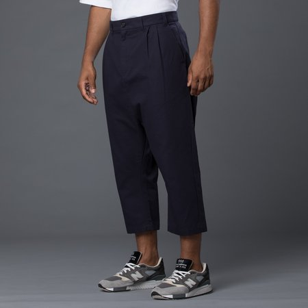 Grei Cropped Herman Pant - Midnight Blue