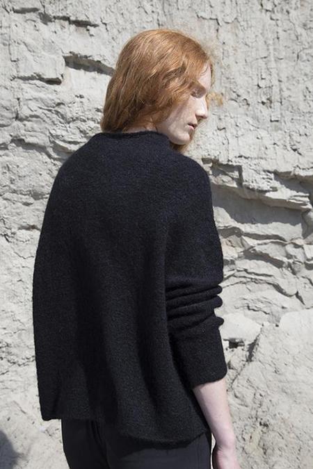 Fform Mock Neck Sweater - Black