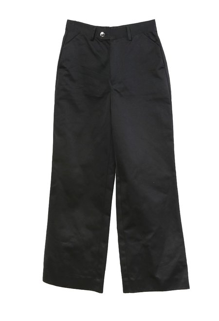 Westley Austin Wide Leg Western Trouser - Black