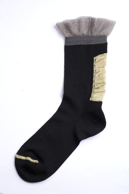 DèPio 610 Socks - Black/Gold