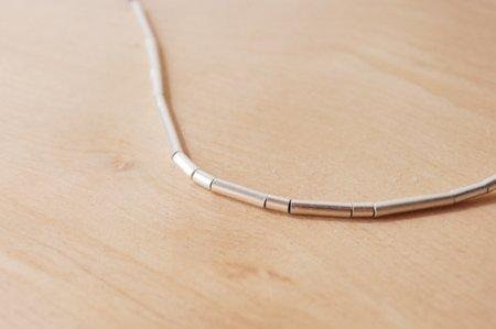 Rachel Gunnard Sterling Silver Tubetti Necklace