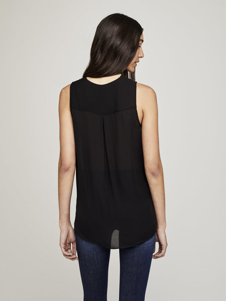L'Agence Mila Top - Black