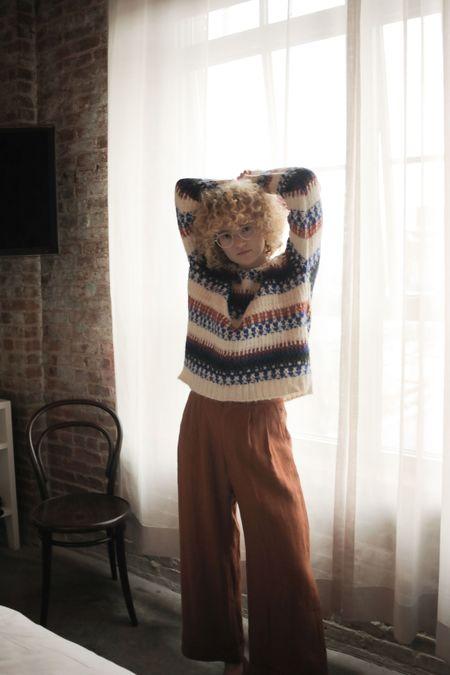 Kordal Fairisle Sweater - Cream Multi