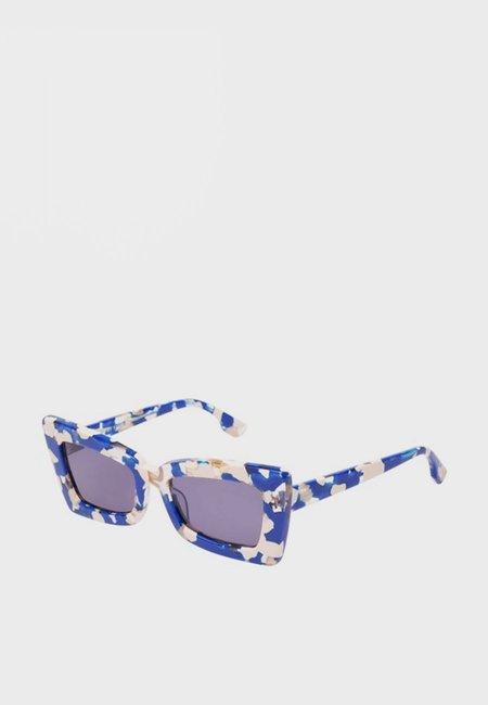 Le Specs Zaap Sunglasses - Cobalt Blue