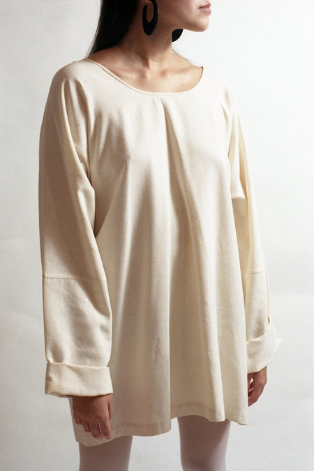 Horizon Vintage Japanalia Raw Silk Tunic